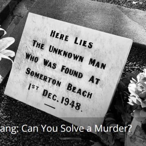 Think You Can Solve a 70 Year Old Cold Case?